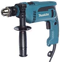 Дрель ударная Makita HP1640, 680Вт, 13мм, 0 - 2.800 мин-1, 2.0кг