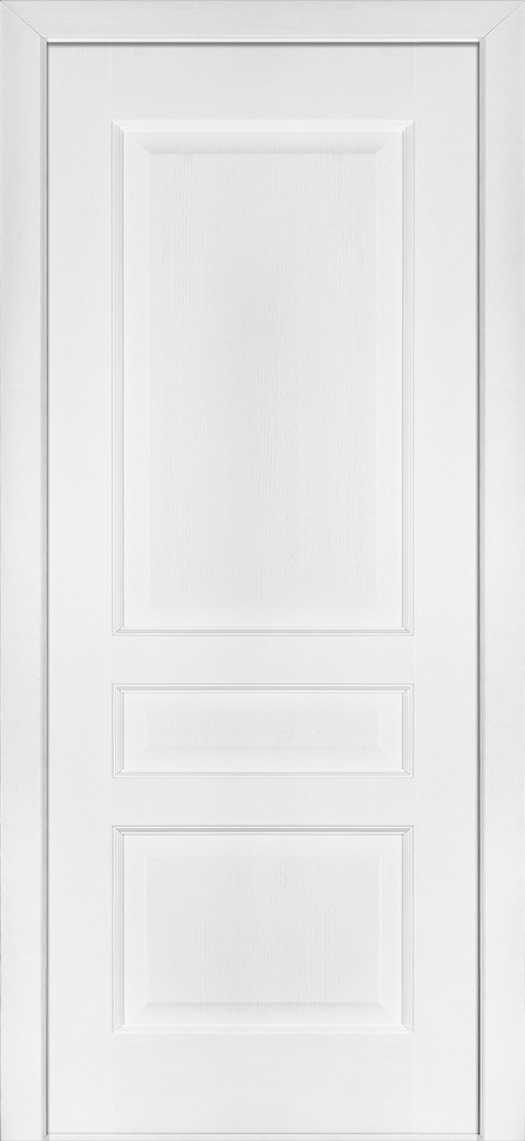 Дверь межкомнатная Terminus Модель 102 Ясень белый Эмаль цвет (глухая)