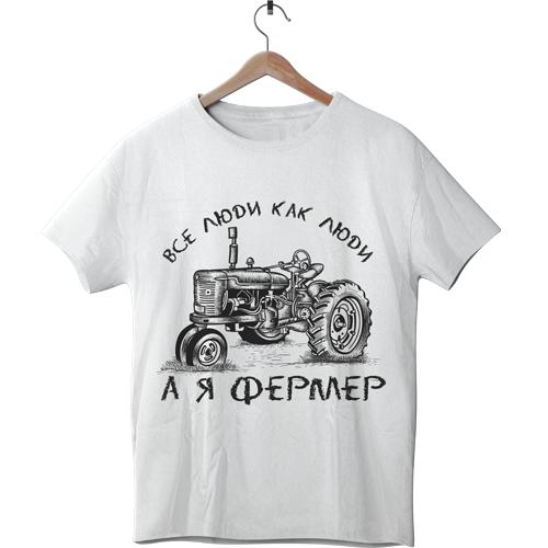 Футболка чоловіча Фермер
