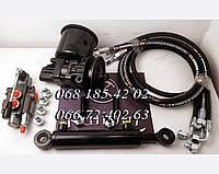 Бюджетный комплект гидравлики на самодельную мини-технику
