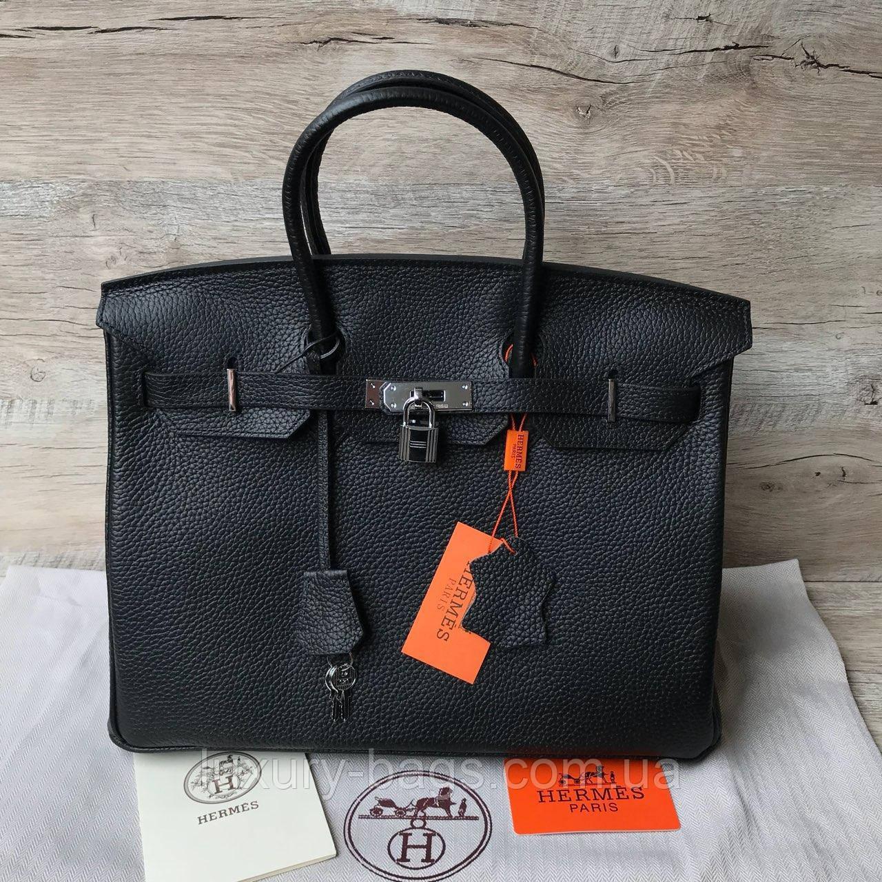 Женская кожаная сумка Биркин 35