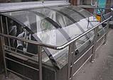 Полікарбонат монолітний Soton (Сотон), прозорий 4 мм 2,05*3,05 м, фото 2