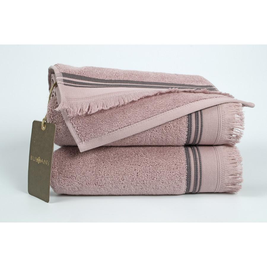 Полотенце махровое Buldans - Almeria dusty rose 30*50