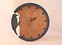 """Часы из дерева """"Woodpecker"""""""