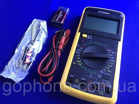 Цифровой мультиметр DT9208A, фото 2