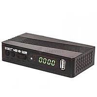 Цифровой ТВ-ресивер тюнер приставка DVB-T2 UKC 0967 с поддержкой wi-fi адаптера