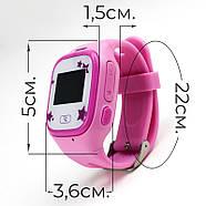 Детские GPS часы-телефон JETIX Tiny 2 Kid с виброзвонком и WiFi (Pink), фото 3