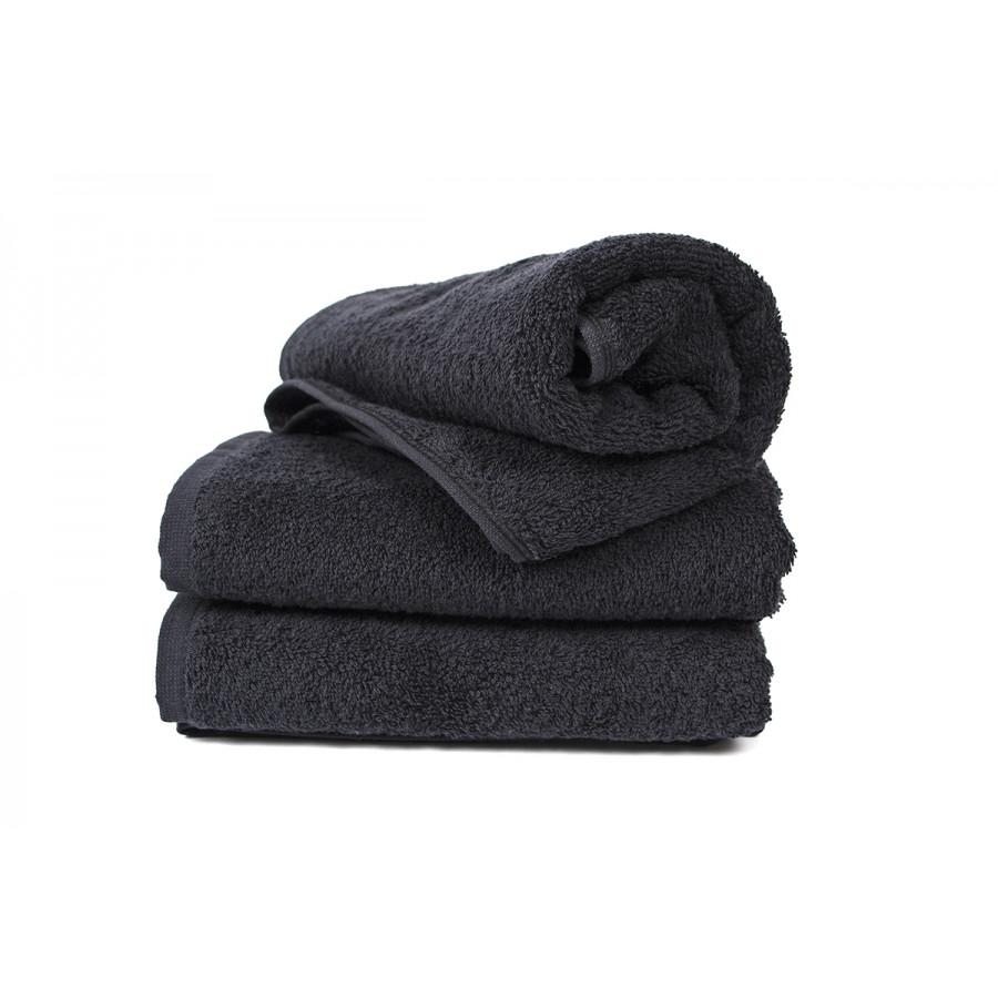 Полотенце Lotus Black - Черный 30*50 (16/1) 500 г/м²