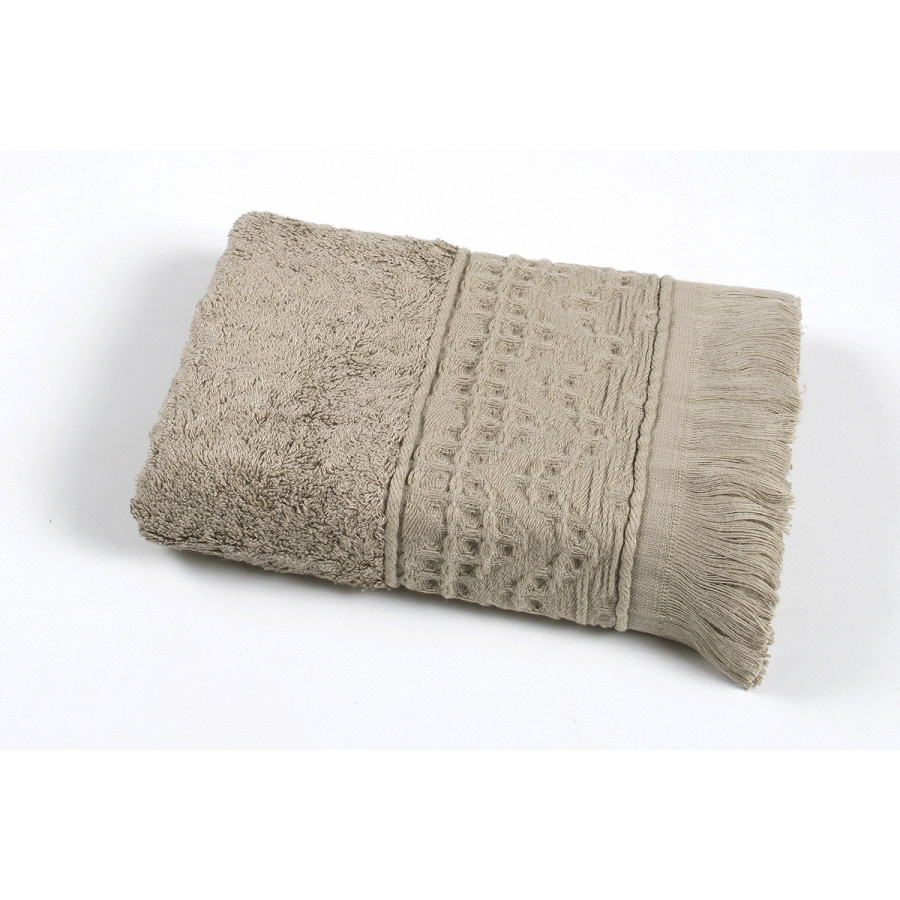Полотенце Oliva Home Bamboo - Alacati gri серый 50*90