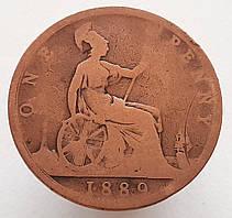 Великобритания 1 пенни 1889