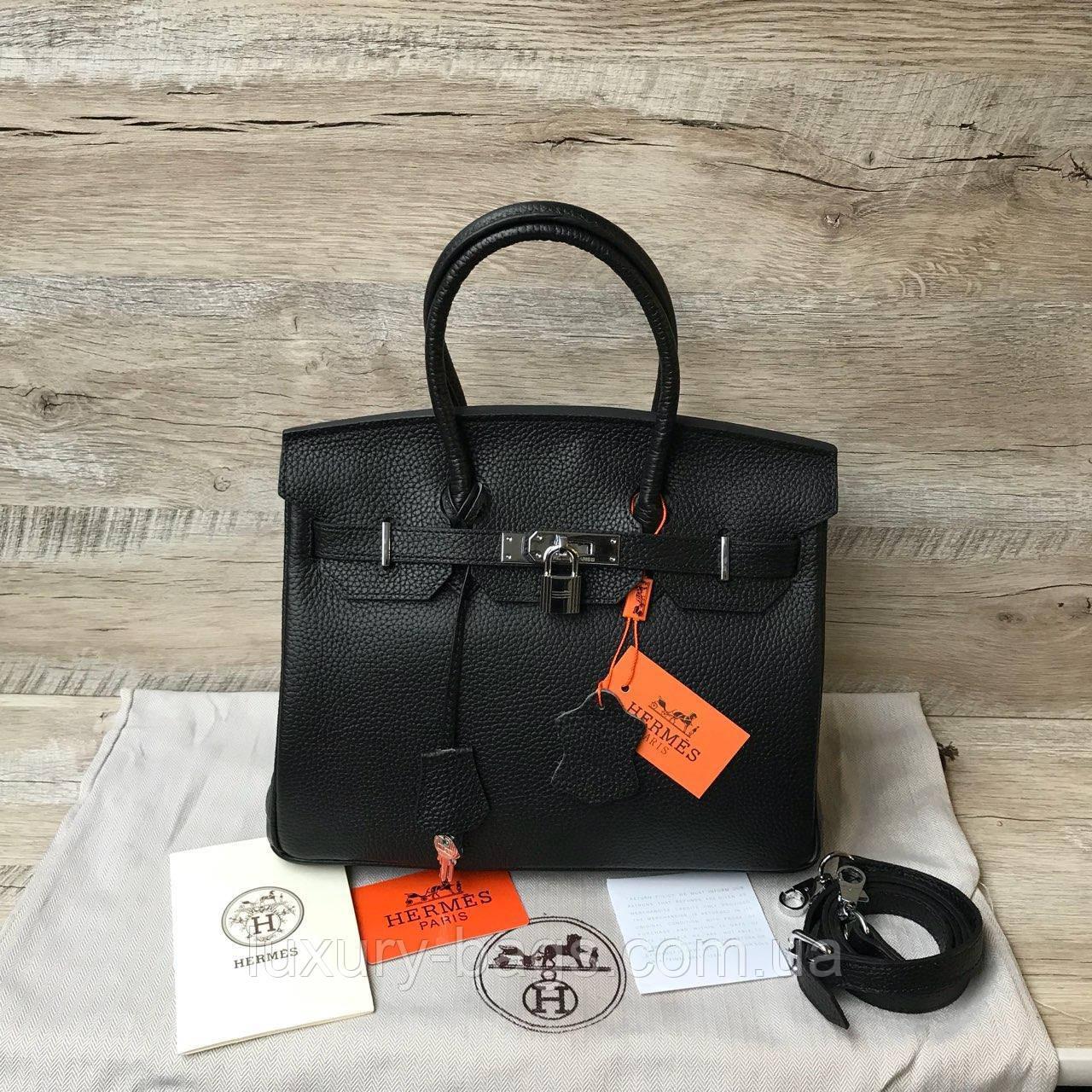 Кожаная сумка Биркин 30