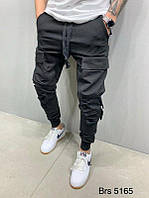 Мужские спортивные штаны (черные) - Турция 5165