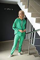 Модный легкий Спортивный женский костюм (42-48р), доставка по Украине