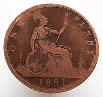 Великобритания 1 пенни 1891