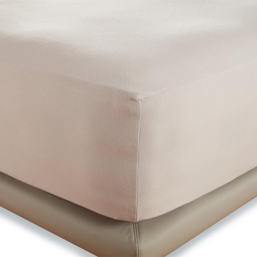Простынь на резинке Penelope - Tender grey серый 160*200+40