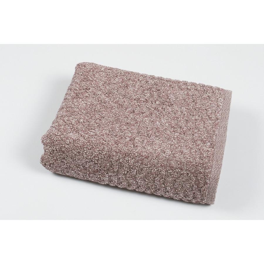 Полотенце махровое Pupila - Bump bordo бордовый 50*90