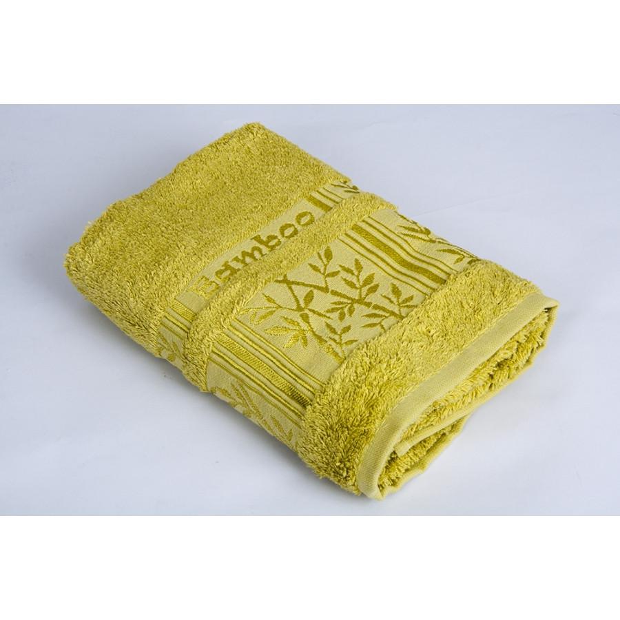 Полотенце махровое Pupilla Vip Bamboo - Silver салатовый 70*140