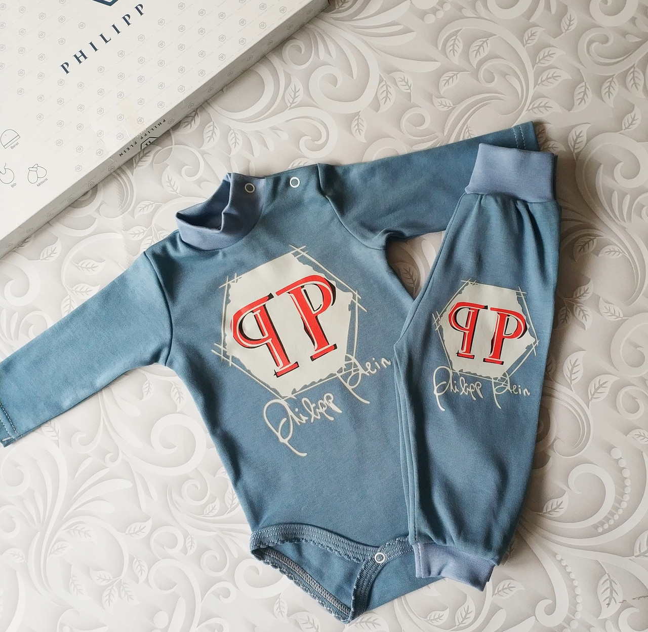 Комплект для новорожденных Philipp Plein