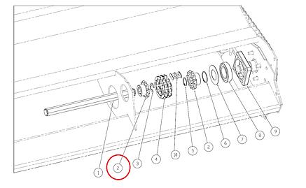 Зірочка Capello 01.0510.01 Z=12, фото 2
