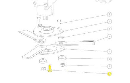 Болт Capello 01.0211.00 ротора М14х30х1,25, фото 2