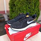 Мужские кроссовки в стиле Nike Zoom AIR черные с оранжевым, фото 2