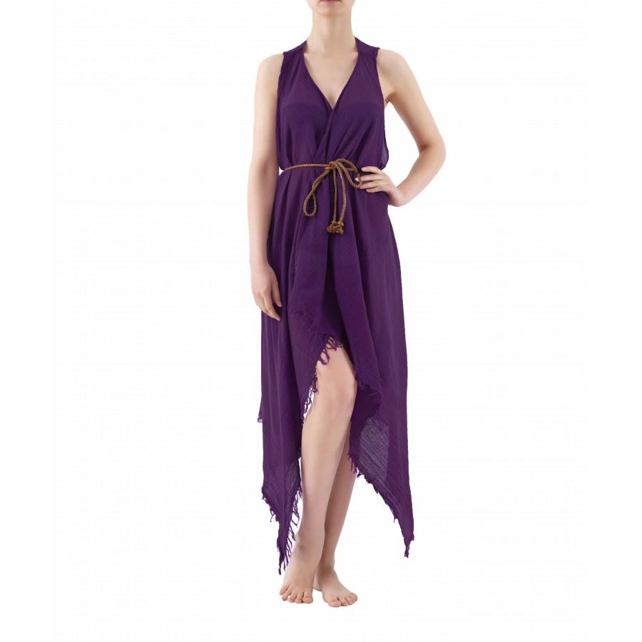 Пляжная туника Buldans - Carmen purple фиолетовый