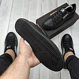 Мужские кеды Calvin Klein OS072 черные, фото 6