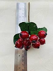 Декоративная веточка калины(14 см), фото 2