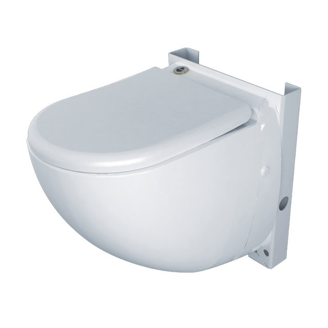подвесной унитаз с интегрированным насосом-измельчителем_компакт-измельчитель для принудительной канализации_SANICOMPACT Comfort купить