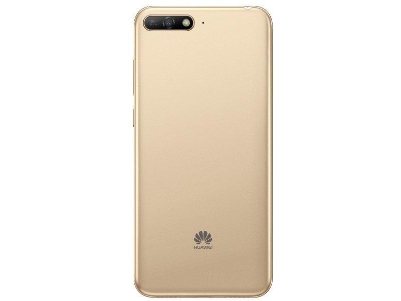 Задняя крышка Huawei Y6 (2018), золотистая, Оригинал