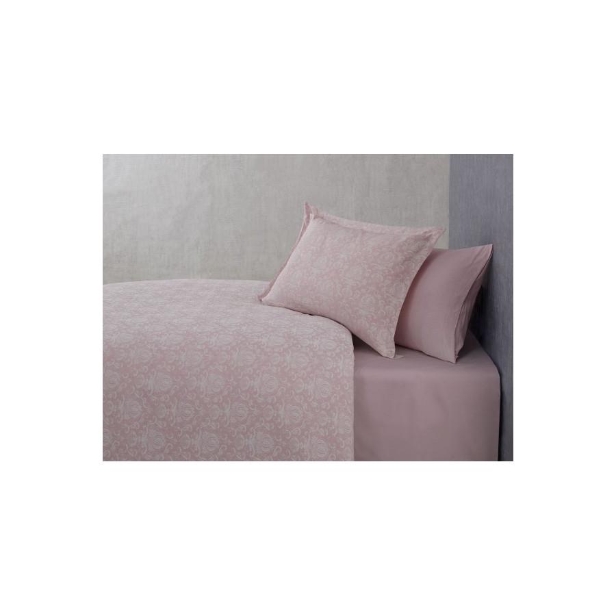 Постільна білизна Buldans - Blair gul kurusu рожеве євро