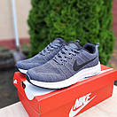 Мужские кроссовки в стиле Nike Zoom серые, фото 2