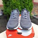 Мужские кроссовки в стиле Nike Zoom серые, фото 3