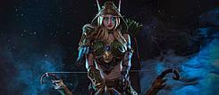 Годнота: красивый косплей эльфийки Аллерии Ветрокрылой из World of Warcraft