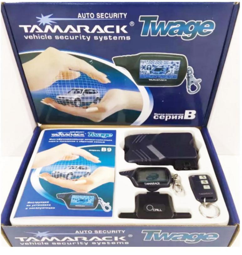 Автомобильная сигнализация Tamarack Twage B9 Автосигнализация