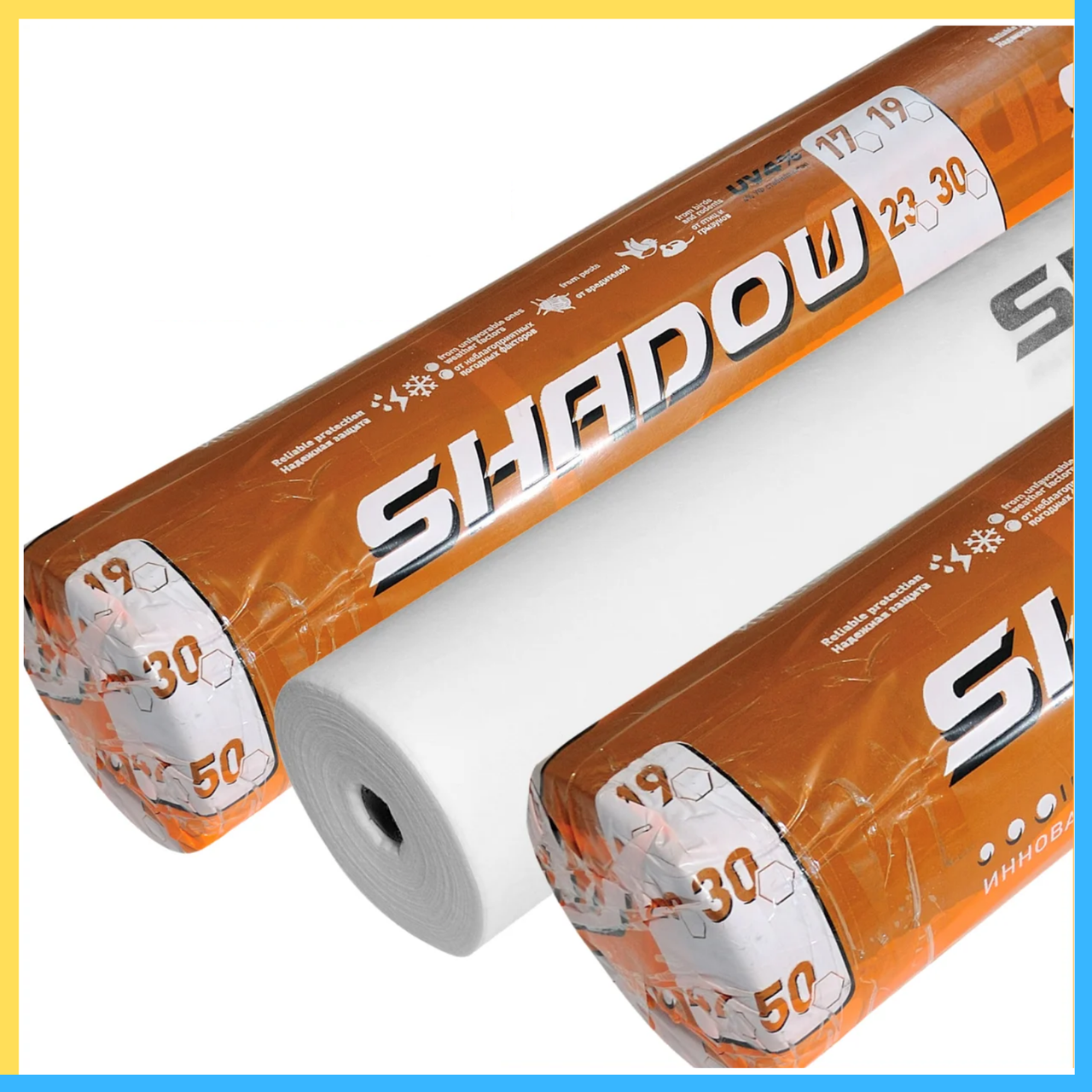 "Агроволокно   белое 50 г/м²  4,2 х 100 м ""Shadow"" (Чехия) 4%"