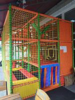 Детский лабиринт трёхэтажный (детская игровая комната) 5х3х3м