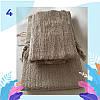"""Полотенце махровое баня.  Vip Cotton """"SEZAR"""" :: Sikel. 70*140. Турция. Плотность: 500 г/м2, фото 5"""