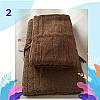 """Полотенце махровое баня.  Vip Cotton """"SEZAR"""" :: Sikel. 70*140. Турция. Плотность: 500 г/м2, фото 3"""