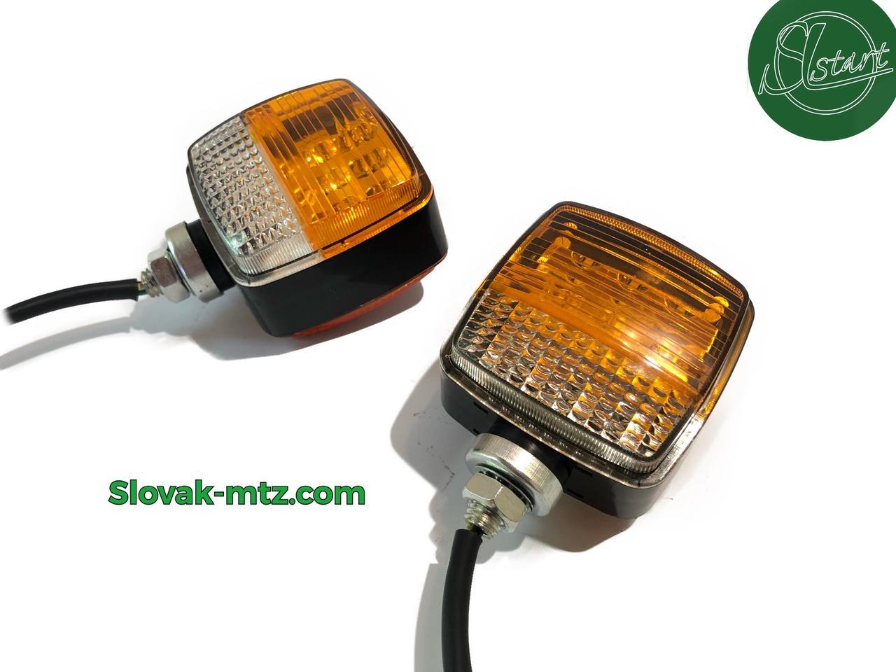 Ліхтар LED габаритний квадратний універсальний 108 мм х 83 мм х 63 мм 12/24/36В