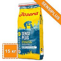 Сухой корм для собак Йозера Сенси Плюс при чувствительном пищеварении| Josera SensiPlus | 15 кг