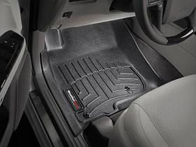 Ковры резиновые WeatherTech Toyota LC150 2009-2013  передние черные
