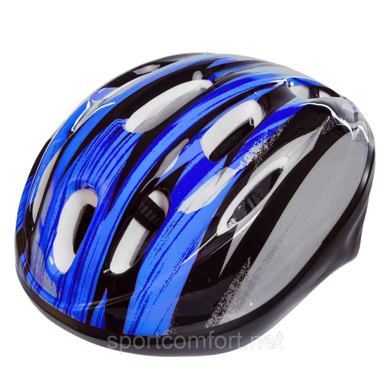 Велошлем шоссейный с механизмом регулировки Zelart MV10 (EPS, пластик, PVC, р-р S-L(53-61)