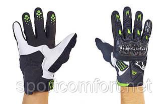 Мотоперчатки кожаные Alpinestars M10-B размер M-XL цвета в ассортименте