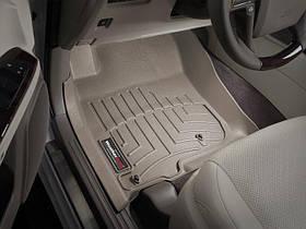 Ковры резиновые WeatherTech Toyota LC150 2009-2013  передние бежевые