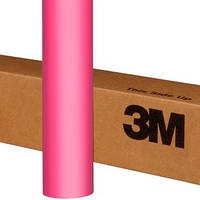Розовая матовая пленка 3M 1080 Matte Hot Pink
