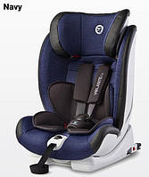Детское каркасное автокресло Caretero Volante Fix Isofix Limited 9-36 кг (Синий)