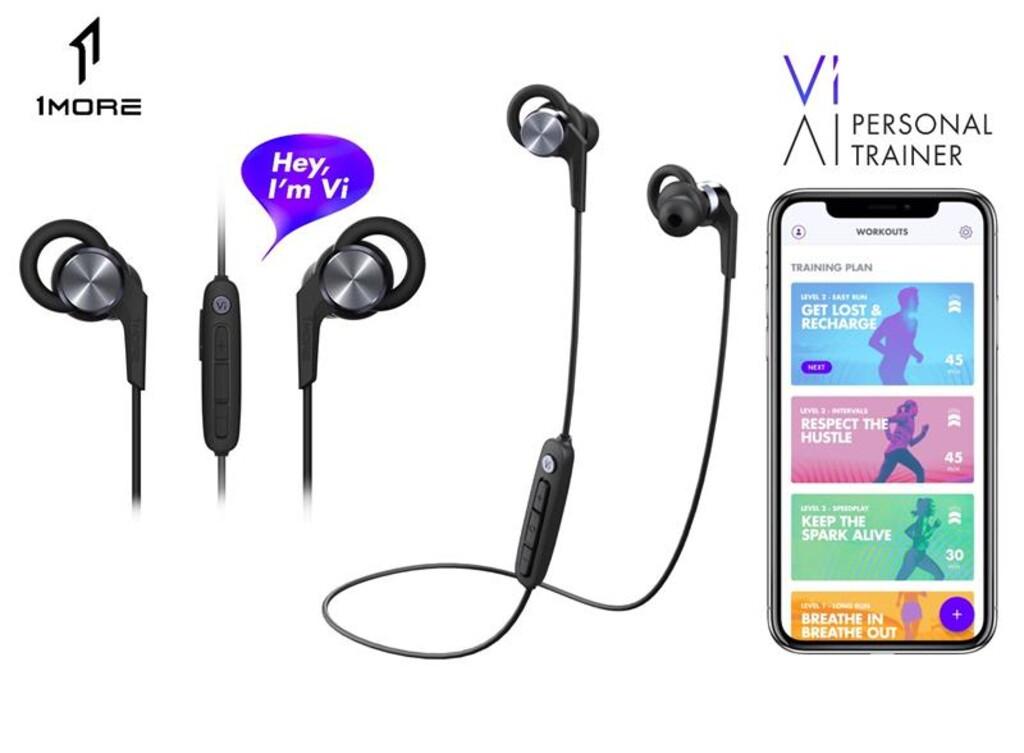 Навушники 1MORE iBFree Sport Vi React Wireless Mic Black (E1018-PLUS)