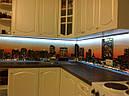 Стеклянный кухонный фартук с подсветкой купить в Днепропетровске, фото 3