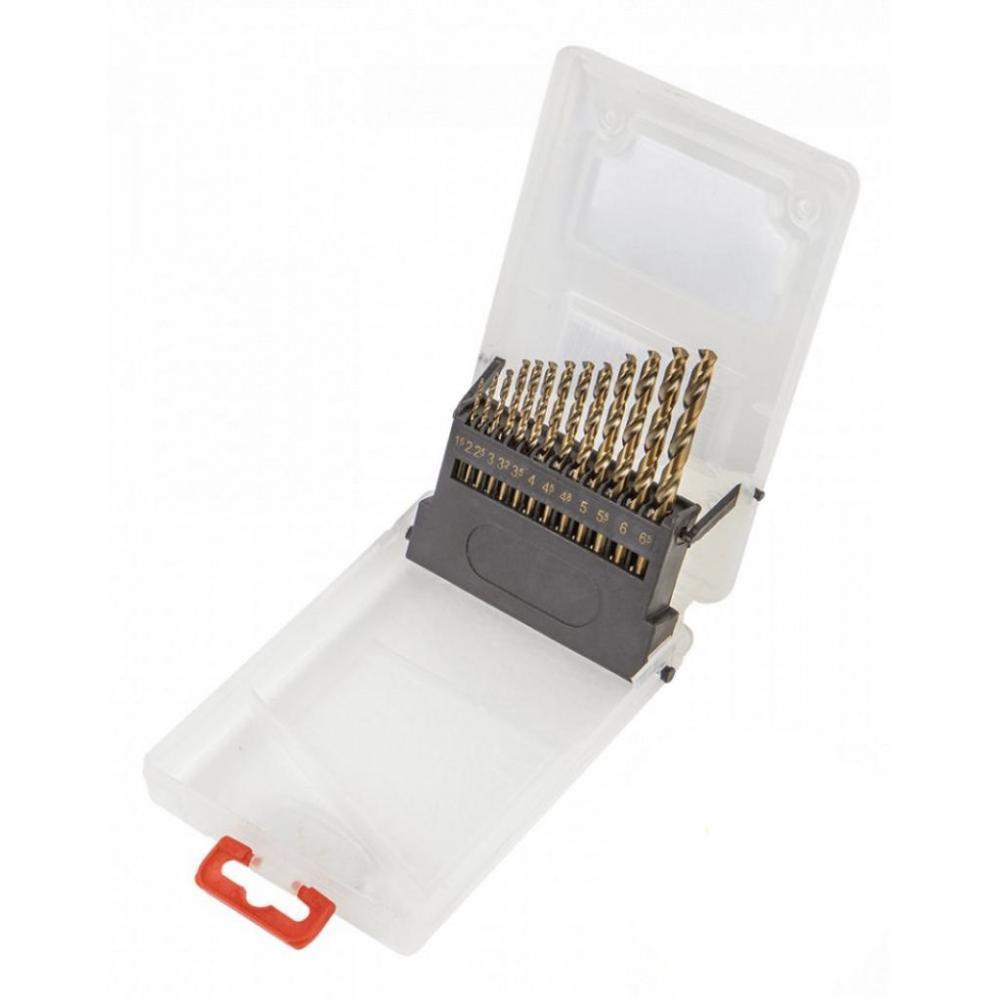 Свердло по металу Verto HSS-G, 1.5-6.5 мм, набір 13 шт.